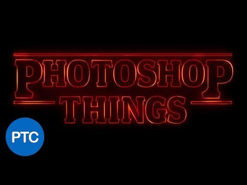 Stranger Things Text Effect In Photoshop