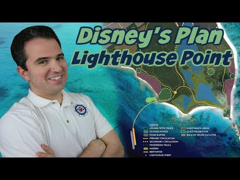 Disney's Plan For A New Disney Cruise Line Private Paradise On Lighthouse Point