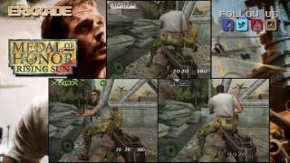 Comparison - Medal of Honor: Rising Sun XBOX vs PS2 vs GC