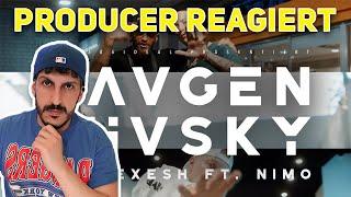 Producer REAGIERT auf Olexesh - AUGEN HUSKY feat. Nimo (prod. von The Cratez) [Official Video]