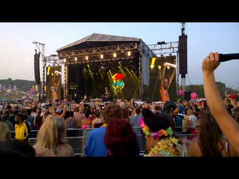 Bestival 2014, Major Lazer - Jah No Partial