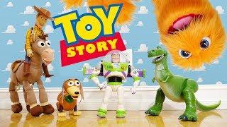 ¡Toy Story en la vida Real! 🚀 Disney juguetes Playset 🎈 Toy Story 2 3 4 🤠 acción viva Toy Story