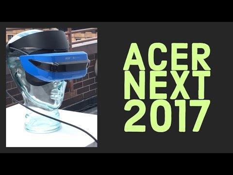 Acer@Next 2017: tutti i prodotti e il visore Windows 10 Mixed Reality