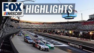 Food City 300 at Bristol | NASCAR on FOX HIGHLIGHTS