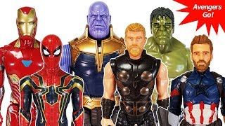 Video Marvel Avengers Infinity War~! Thanos appeared~! Power FX Thor, Hulk, Spider Man, Captain America download MP3, 3GP, MP4, WEBM, AVI, FLV Mei 2018