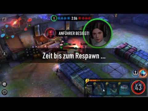 Star Wars Force Arena Deutsch mit Wedge  und viel Puls