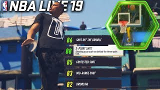 NBA Live 19 Gameplay TRAILER! New Upgrade System and Features!
