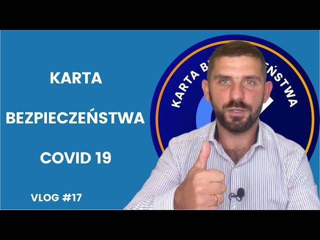 VLOG #17 | Karta bezpieczeństwa Covid-19 | Marek Kloc