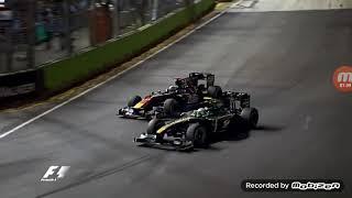 F1 2010 Crashes