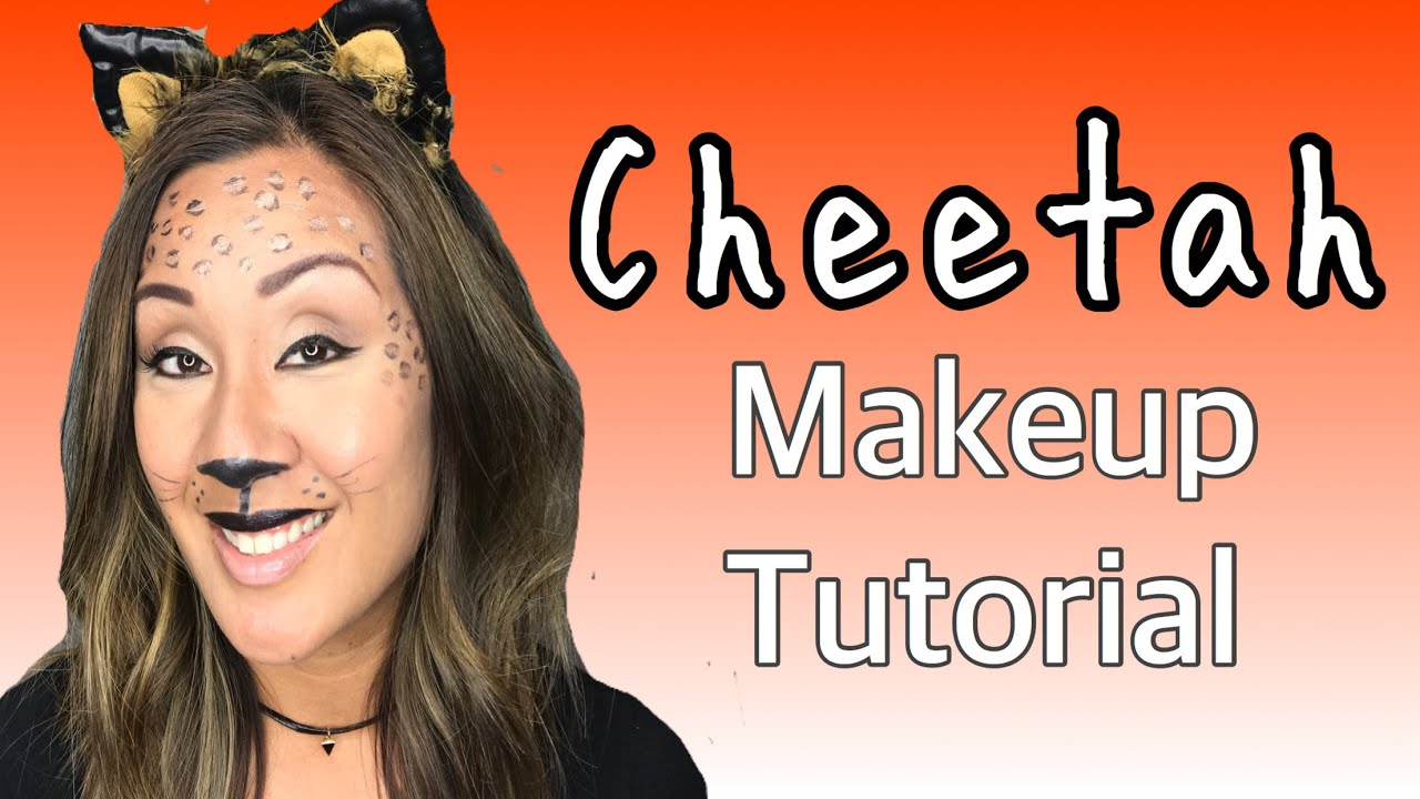 cheetah makeup tutorial beauty