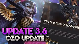 UPDATE ON OZO + 3.6 OVERVIEW!! Vainglory News [Update 3.6]