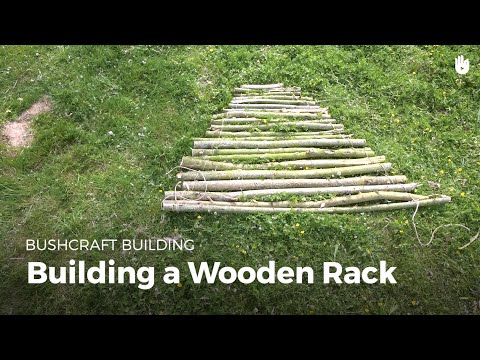 Build a Wooden Rack | Bushcraft
