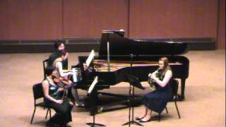 Brahms Trio for Horn, Violin, and Piano: Adagio mesto (3/4)