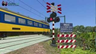 Dutch Train simulator 2013 levelcrossings v1.0 Promo movie