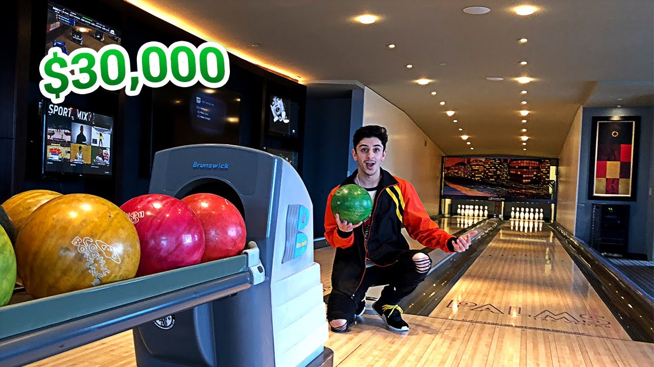 my-insane-30-000-hotel-room-bowling-alley-in-the-room