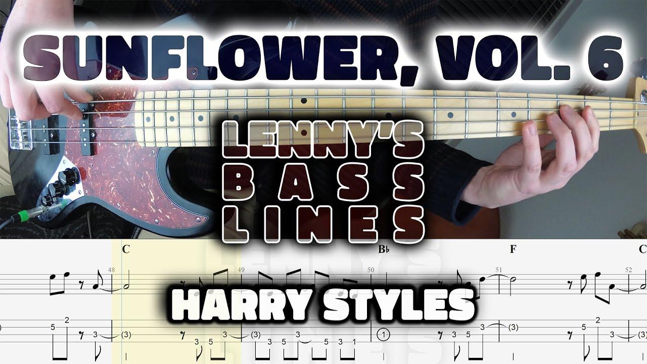 Harry Styles - Sunflower, Vol. 6 - Bass Line - Score ...