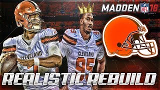 Rebuilding The Cleveland Browns | DeShone Kizer is a Superstar | Madden 18 Connected Franchise 2017 Video