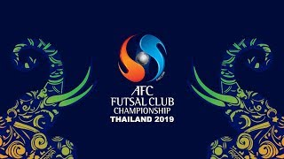 AFC Futsal Club Championship Thailand 2019 - Official Draw