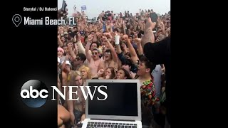Spring break partiers refusing to isolate amid coronavirus crisis draw concerns | Nightline
