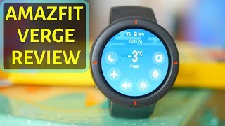 Huami Amazfit VERGE in ENGLISH - Xiaomi's new affordable AMOLED SmartWatch!