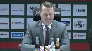 1878 TV | Pressekonferenz 15.02.2019 Augsburg-Iserlohn 3:2 nP