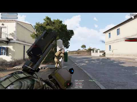 ARMA III [506th] IR RU - Military Operation Urban Terrain. [Attacked from all sides]