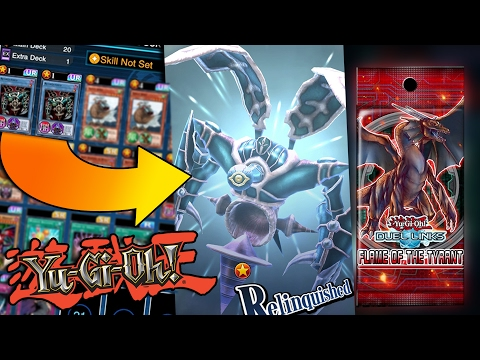 BEST RELINQUISHED DECK - Yugioh Duel Links Toon World & New Pack Opening!