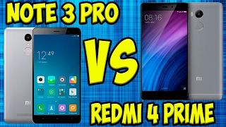 Сравнение Xiaomi Redmi Note 3 Pro vs Redmi 4 Prime/Pro. Тесты, игры, камера, автономность