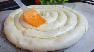 Пирог с Картошкой Слоистые Хрустящие Из Доступных Продуктов УЗБЕЧКА ГОТОВИТ