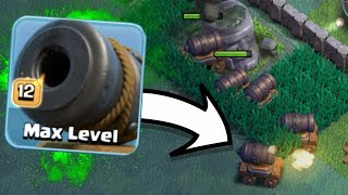 GEM TO MAX LEVEL 12 CANNON CARTS!! BUILDERS HALL 6 TROLLING IN CLASH OF CLANS!