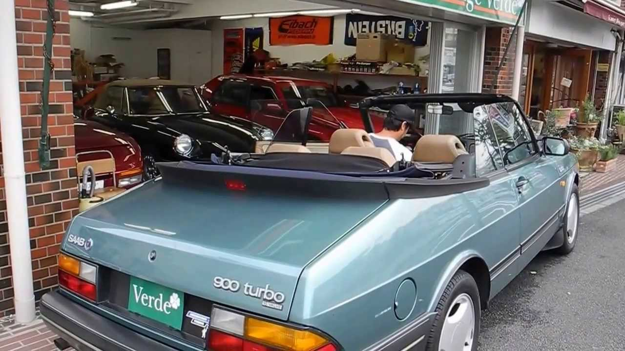 garage verde saab 900 16v turbo youtube