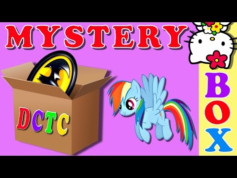 Surprise What's In The Box Game Frozen MLP Batman Pixar Cars Hello Kitty Peppa Pig Team Umizoomi