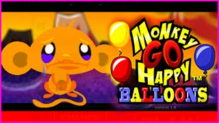 Monkey Go Happy Balloons Level 1-25 Walkthrough