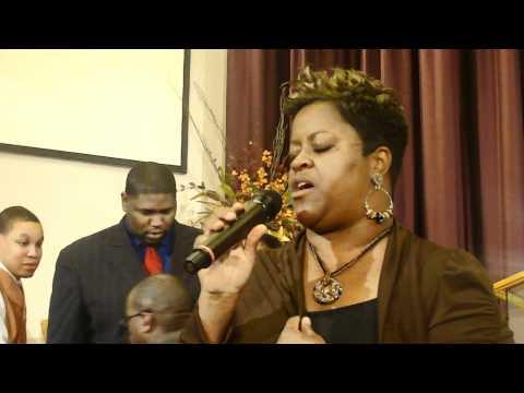 Terri Jackson Singing I Know Who Holds Tomorrow