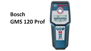 РоботунОбзор: Детектор металла и проводки Bosch GMS 120 Prof