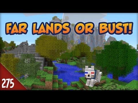Minecraft Far Lands or Bust - #275 - Castle Rock