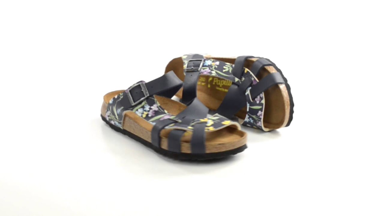 papillio by birkenstock pisa sandals birko flor simply. Black Bedroom Furniture Sets. Home Design Ideas