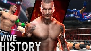 History of - WWF/WWE Video Games (1987 - 2016)
