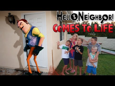 Hello Neighbor In Real Life!