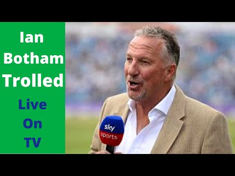 Embarrassing Commentary Moment For Ian Botham - Hilarious Stuff