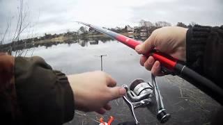 Рыбалка 7 марта 2020 на озере Великое