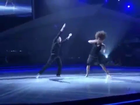Allison Holker and Ivan Contemporary