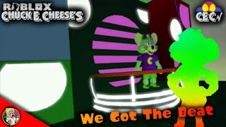 Roblox Chuck E. Cheese's Circle Of Lights - We Got The Beat