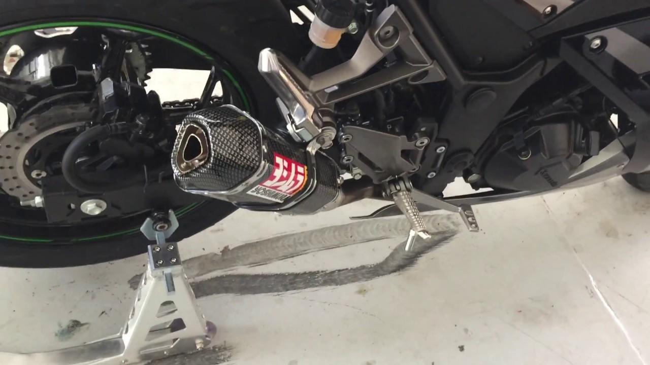 2015 Kawasaki Ninja 300 Ebay Exhaust! - YouTube