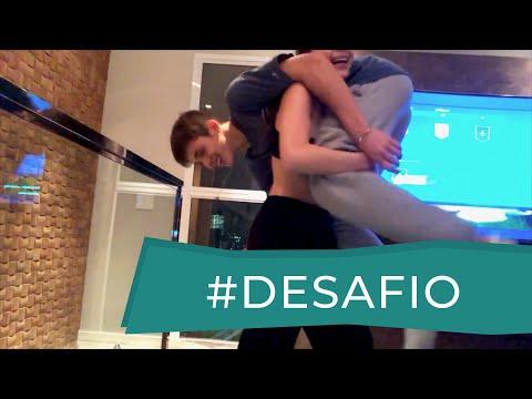 DESAFIO DA ACROBACIA ft João Guilherme