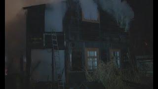 В субботу вечером загорелся частный дом.MestoproTV