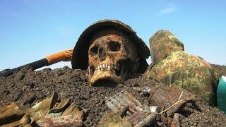 Раскопки в полях Второй Мировой Войны Фильм 14/Excavation in fields of World War II the Film 14