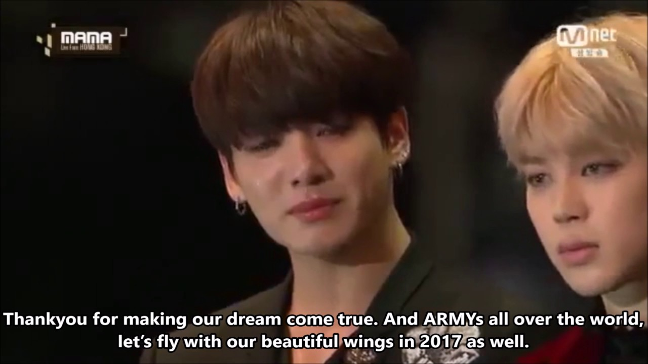 [ENG SUB] 2016 MAMA 방탄소년단(BTS) Artist of the Year / 防彈少年團