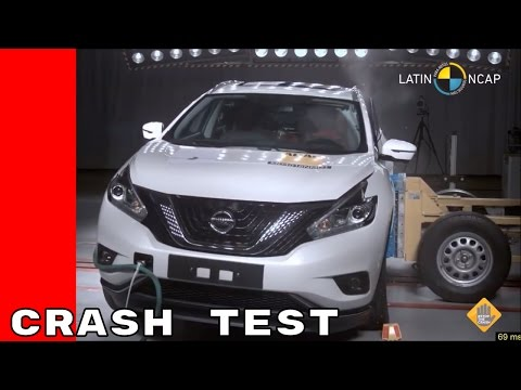 Poor Results For Nissan Murano Crash Test