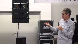 Nico besucht Justmusic - Vorstellung der neuen Marke VUE Audiotechnik (HD)